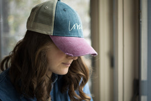 Loved Distressed Hat