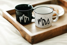 Mr and Mrs Campfire Mug Set