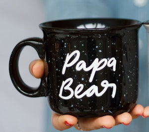 Mama and Papa Bear Campfire Mug Set