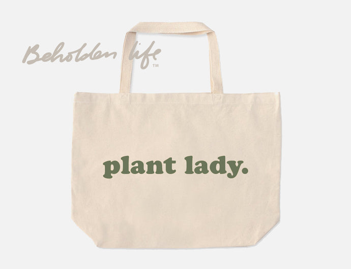 Plant Lady Tote