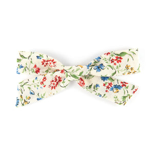 Handtied Bow - Floral Soft Cotton