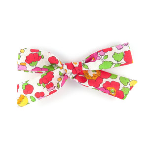 Handtied Bow - Betsy Red