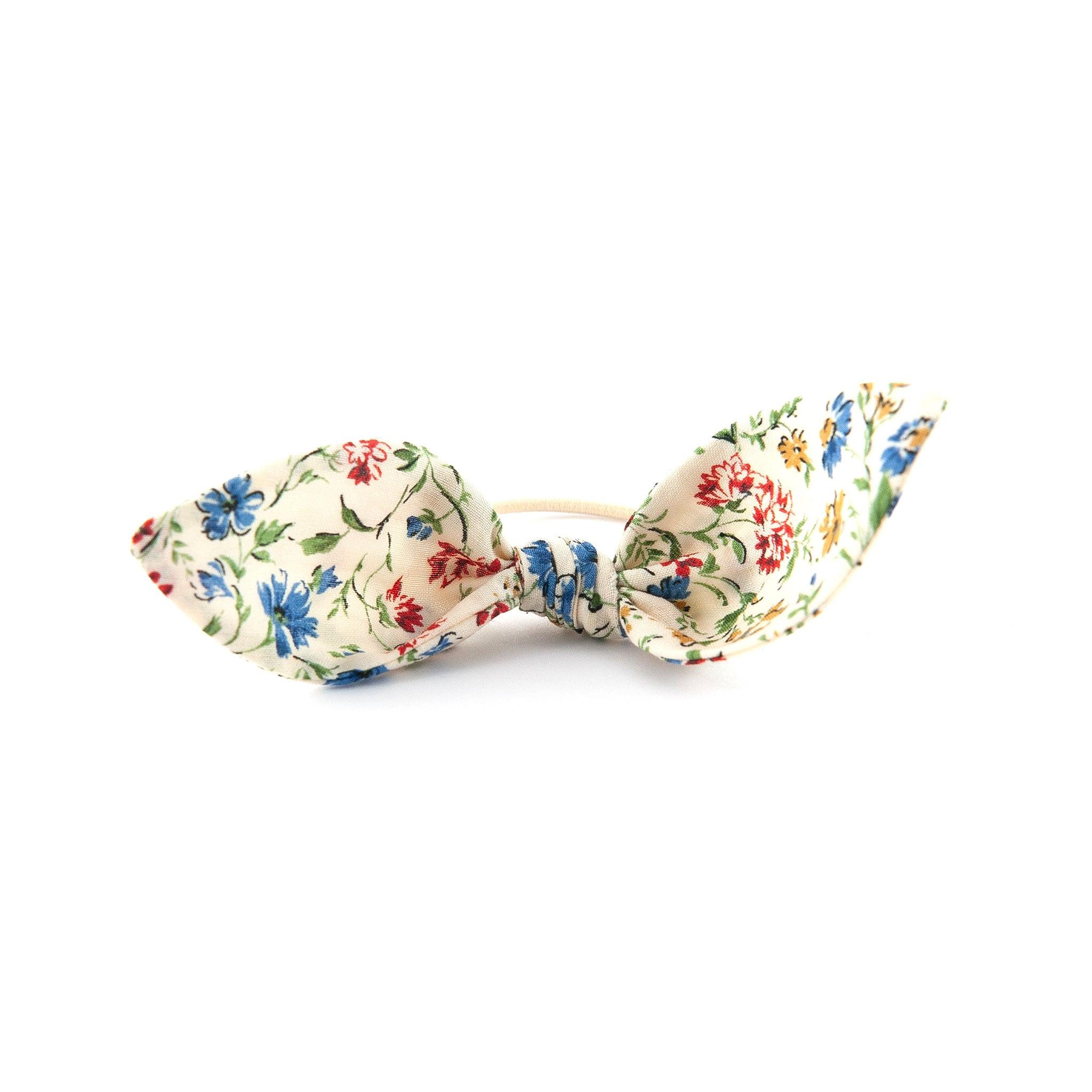 Knot Bow - Pretty Floral Cotton