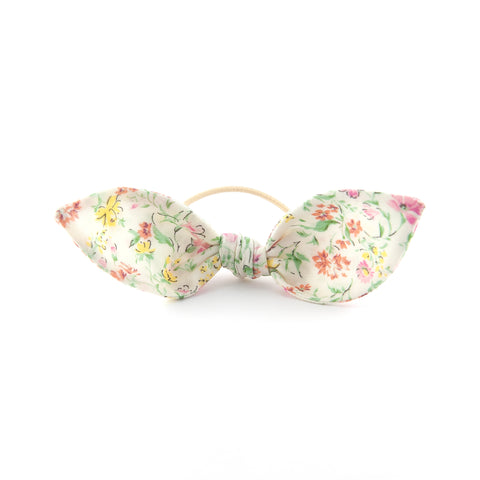 Knot Bow - Soft Floral Cotton