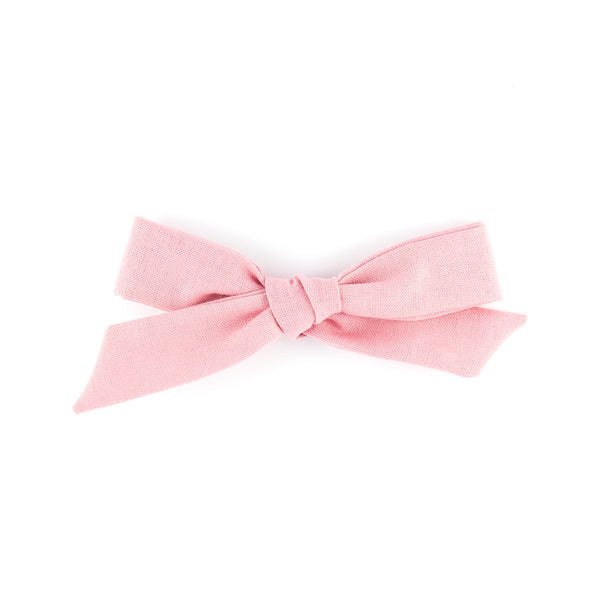 Matilda & Grace, handtied bow, pink cotton
