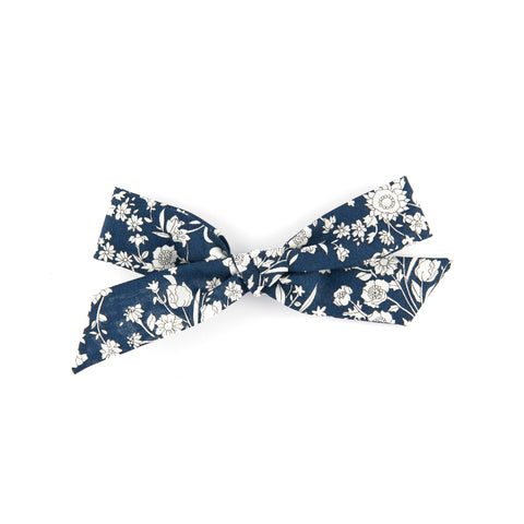 Matilda & Grace, handtied bow, Liberty Summer Blooms