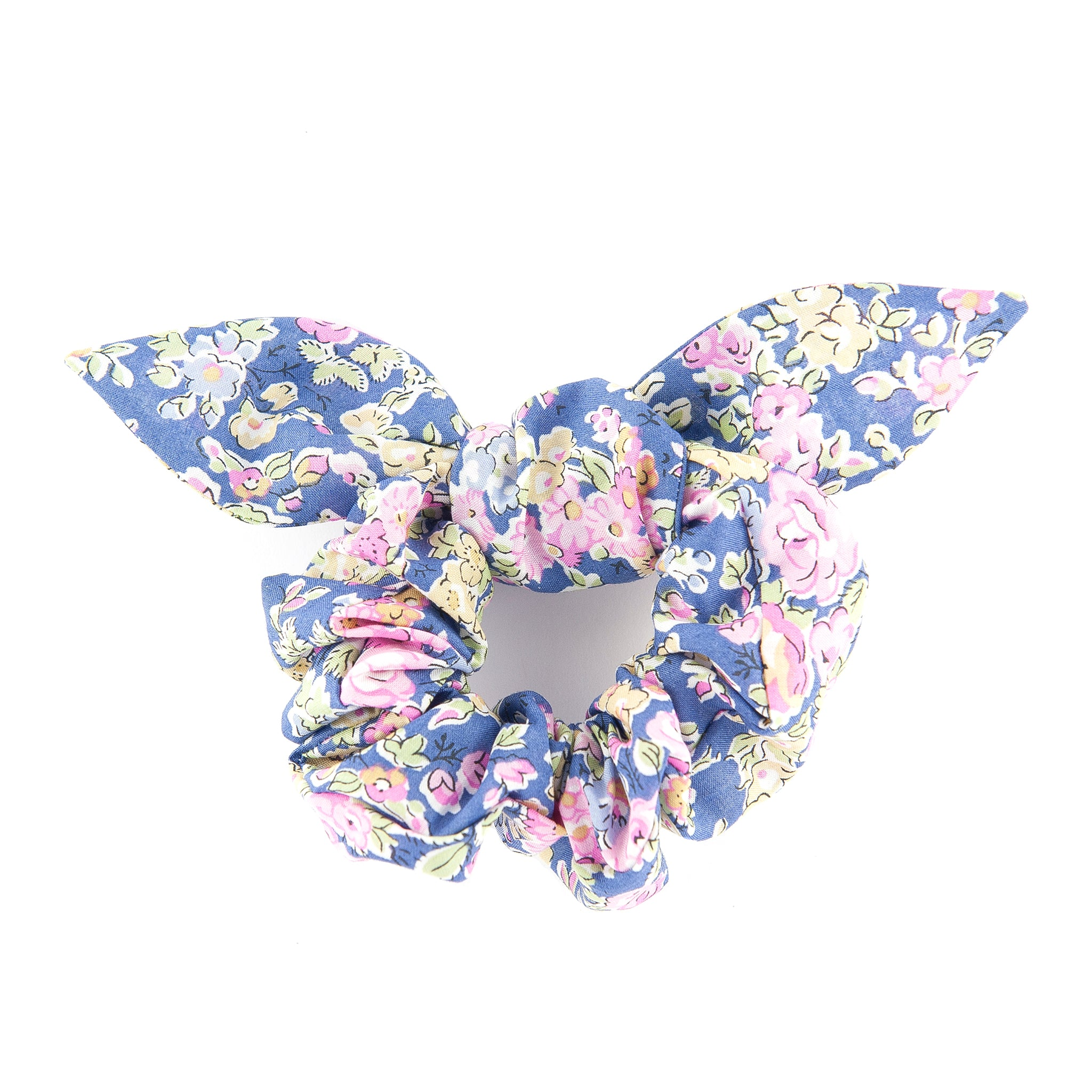 Matilda & Grace, luxury bow scrunchie, Liberty purple Tatum