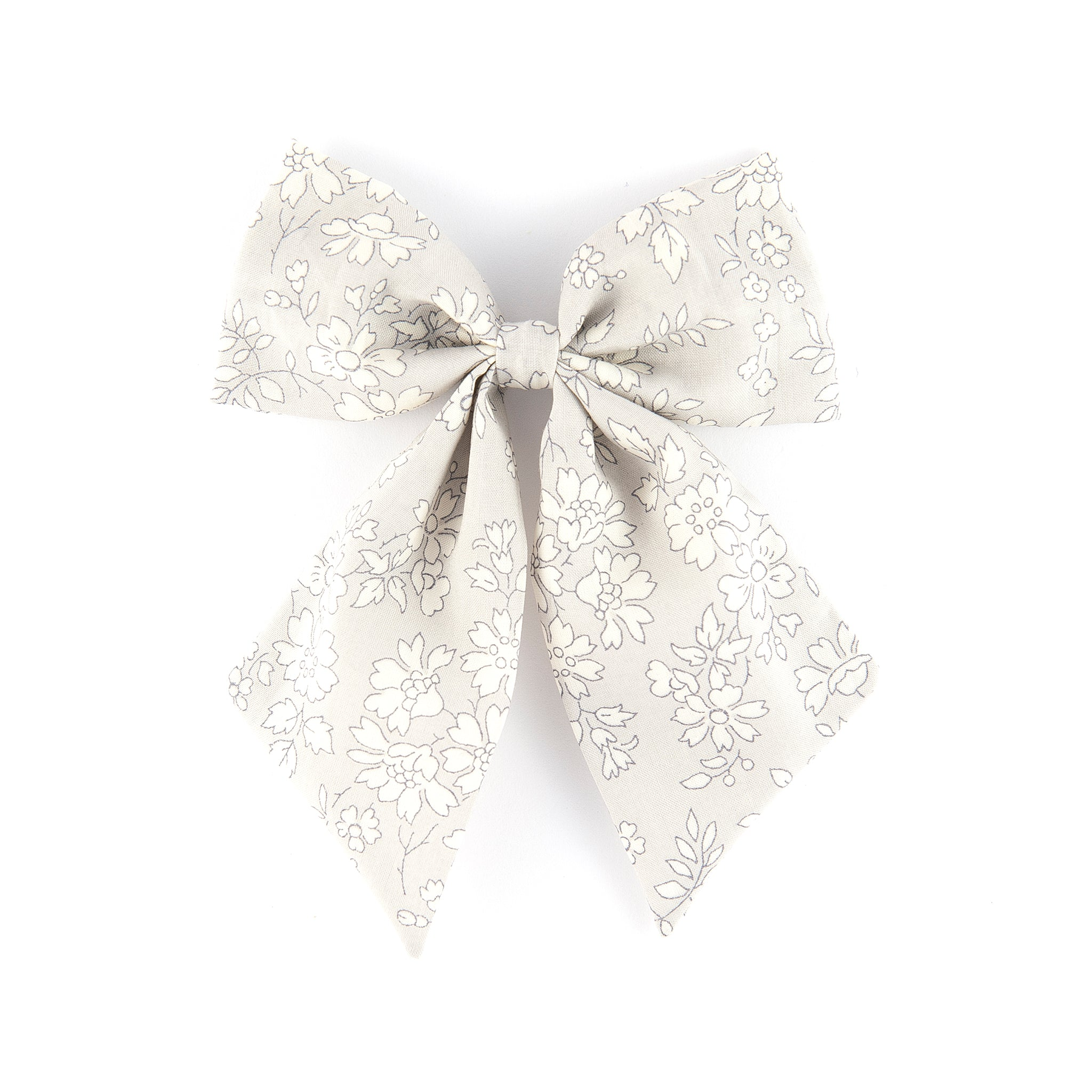 Sailor bow - Grey Capel
