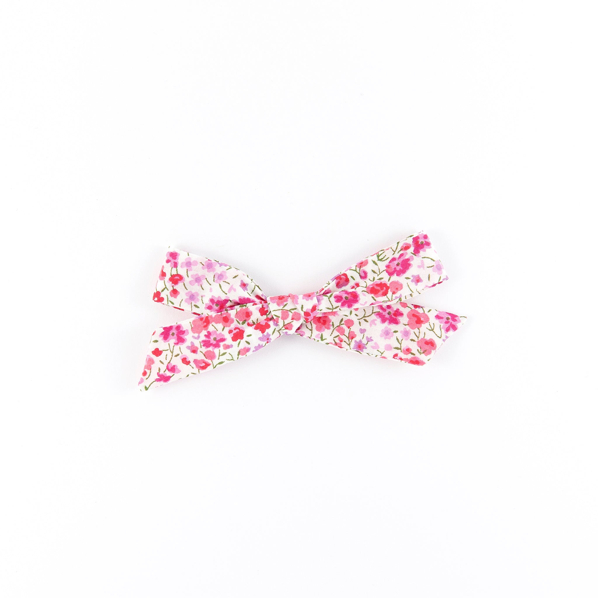 Pigtail Bow - Pink Phoebe