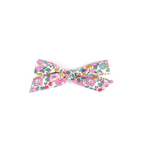 Pigtail Bow - Betsy Ann Pink