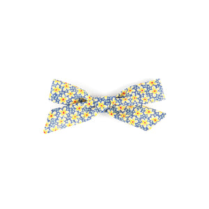 Pigtail Bow - Liberty Daisy