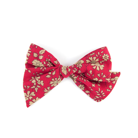 Pinwheel Bow - Red Capel