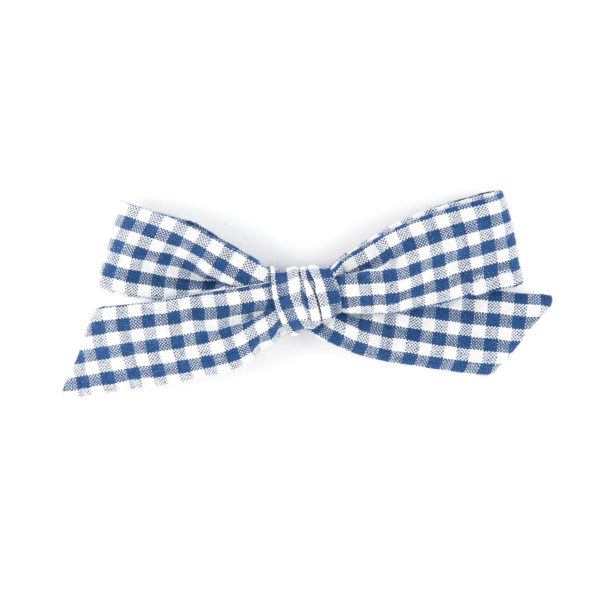 Matilda & Grace, handtied bow, Navy Gingham