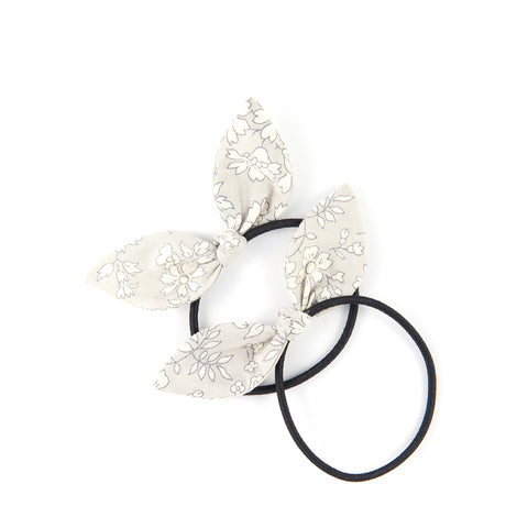 Mini Knot Bows - Grey Capel