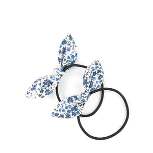 Mini Knot Bow - Phoebe Navy