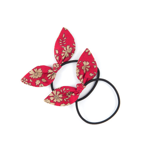 Mini Knot Bows - Red Capel
