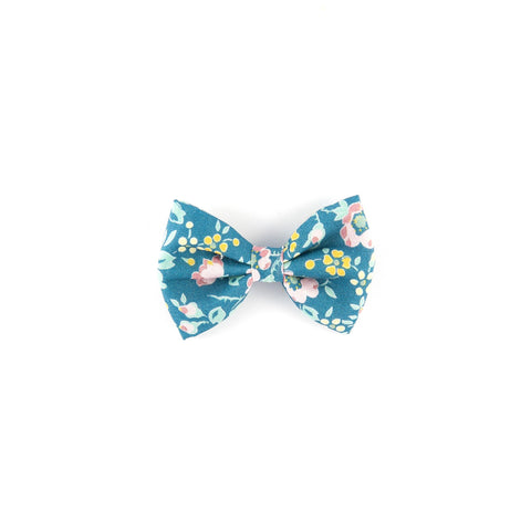 Mini Classic Bow - Green Felicite