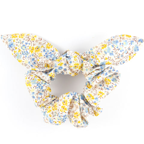 Bow Scrunchie - Phoebe Yellow