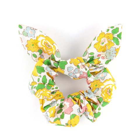 Bow Scrunchie - Betsy Yellow