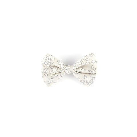 Mini Classic Bow - Grey Capel