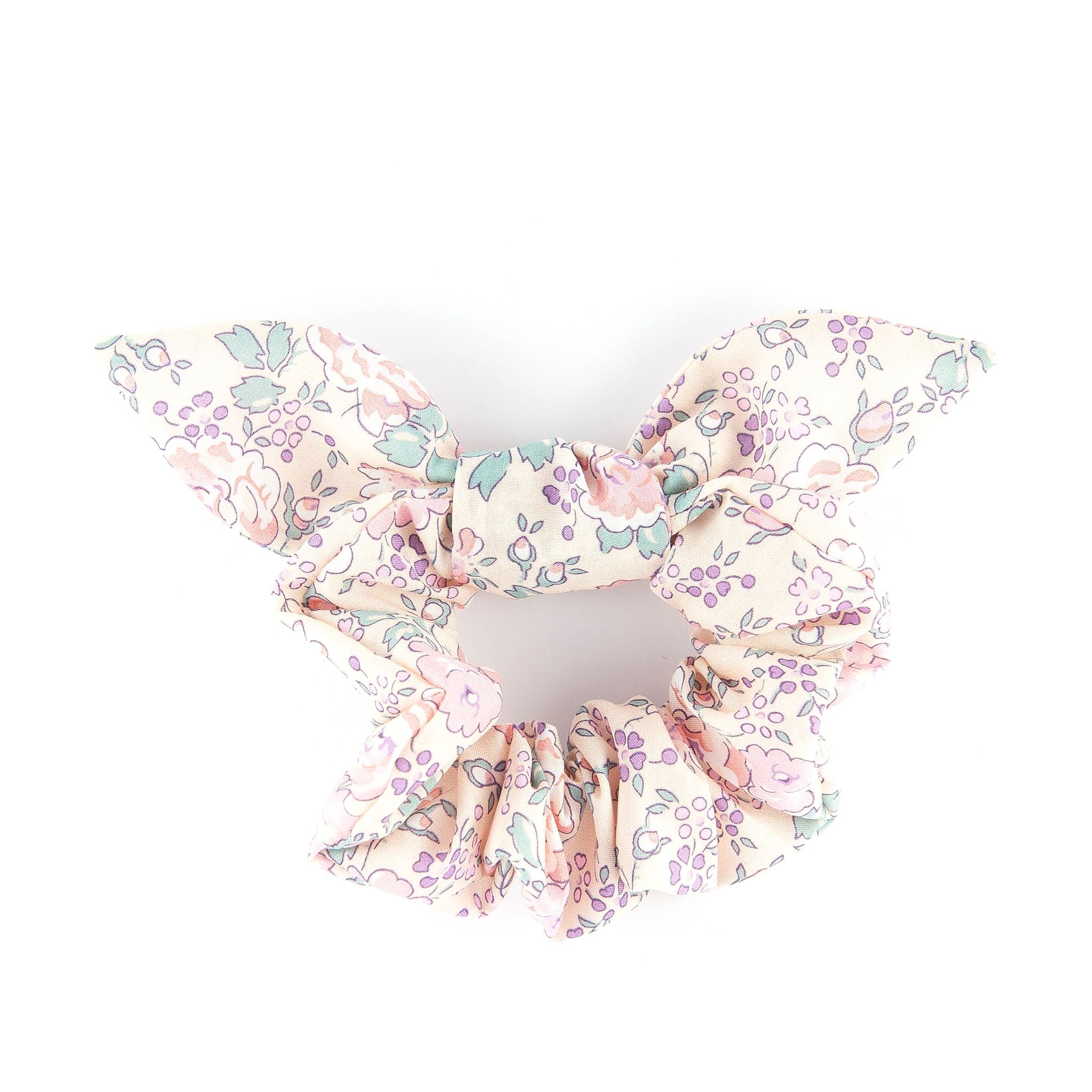 Bow Scrunchie - Pale Pink Felicite