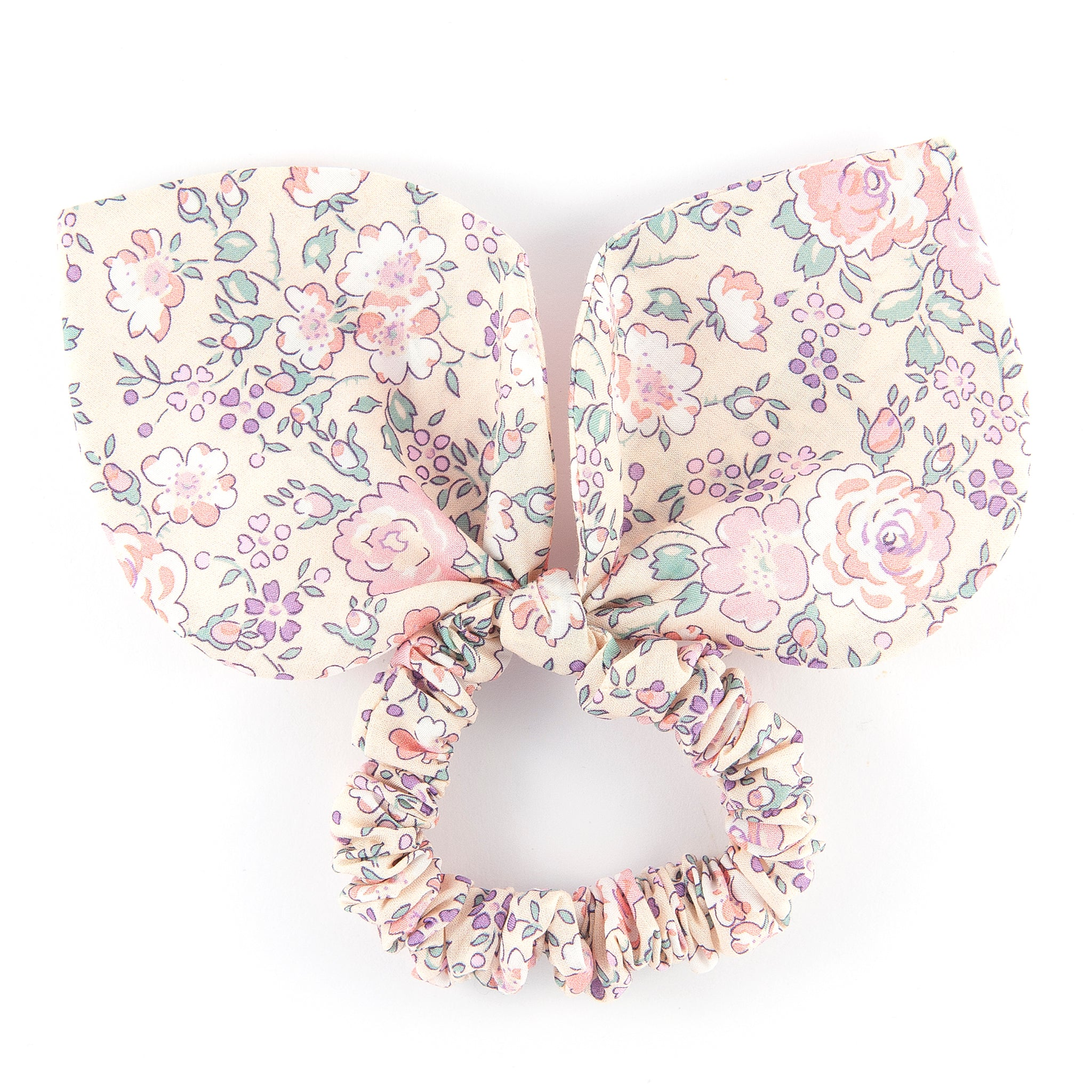 Large 'Bunny Ear' Scrunchie - Felicite Pink