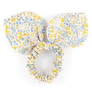 Large 'Bunny Ear' Scrunchie - Phoebe Yellow