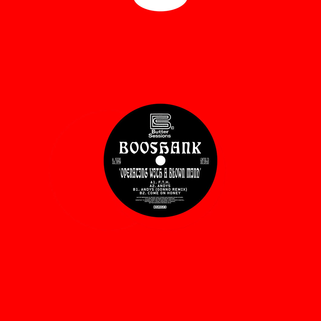 BOOSHANK - OPERATING WITH A BLOWN MIND 12