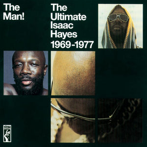 "ISAAC HAYES - ""THE MAN! THE ULTIMATE ISAAC HAYES 1966-1977"" 2xLP"