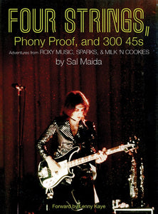 "SAL MAIDA - ""FOUR STRINGS, PHONY PROOF, AND 300 45'S"" BOOK"
