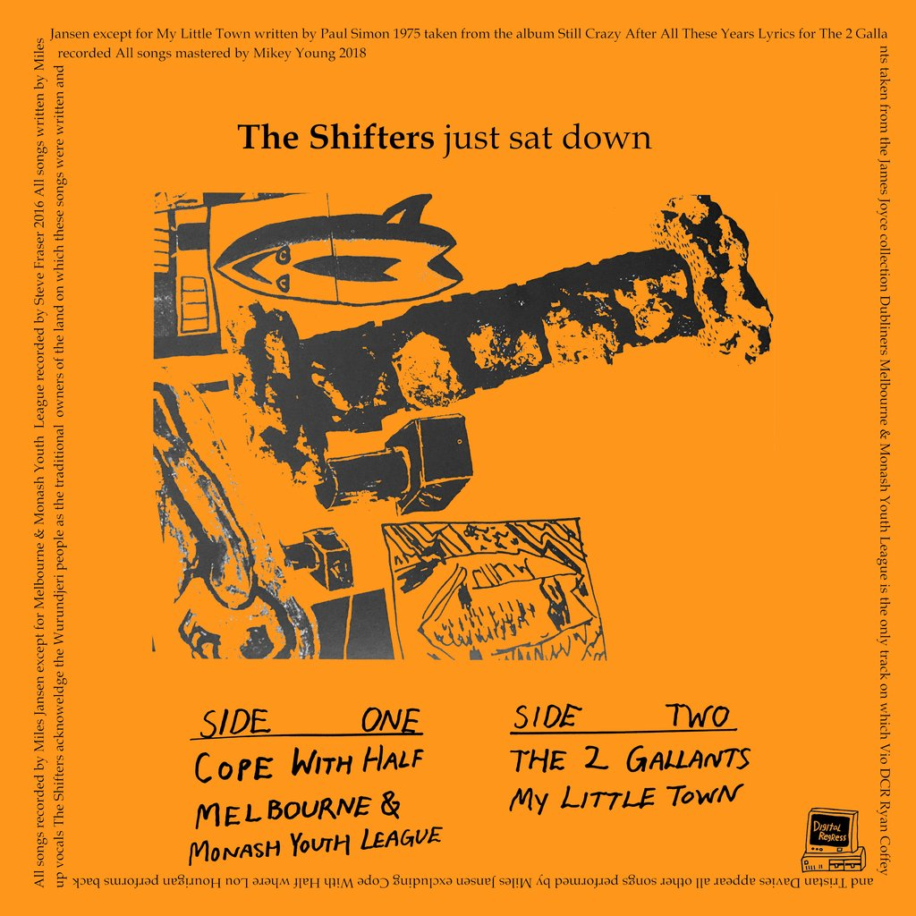 THE SHIFTERS - JUST SAT DOWN 7""