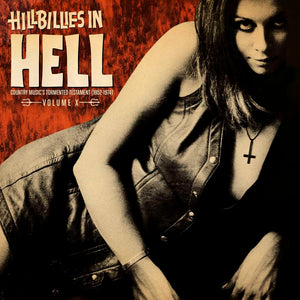 "VARIOUS- ""HILLBILLIES IN HELL VOL. 10"" LP"