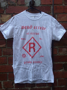"DERO ARCADE - ""RATED R"" RED SHIRT"