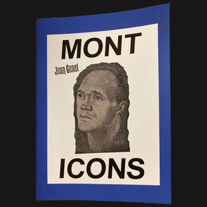 "MONT ICONS - ""JEAN GENET"" BOOK"