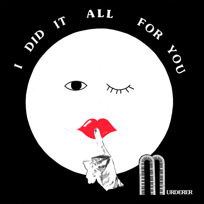 MURDERER - I DID IT ALL FOR YOU LP