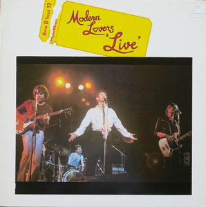 "MODERN LOVERS - ""LIVE"" LP"