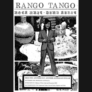 "RANGO TANGO - ""ISSUE ONE"" ZINE"