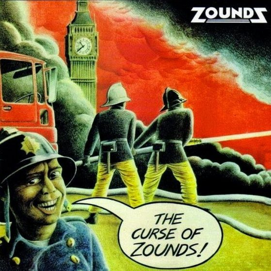 ZOUNDS - THE CURSE OF ZOUNDS LP