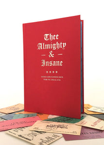 """THEE ALMIGHTY & INSANE: CHICAGO GANG BUSINESS CARDS FROM THE 1960S & 1970S"" BOOK"