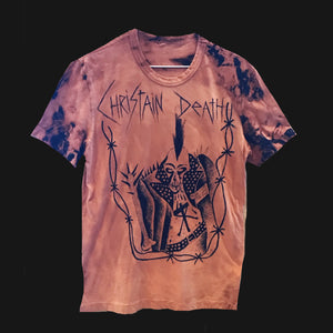 "SPIDER DEATH - ""CHRISTAIN DEATH"" SHIRT"
