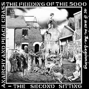 "CRASS - ""FEEDING OF THE 5000 (THE SECOND SITTING)"" LP"