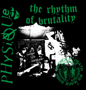 "PHYSIQUE - ""THE RHYTHM OF BRUTALITY"" LP"