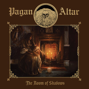 PAGAN ALTAR - THE ROOM OF SHADOWS LP + 10""