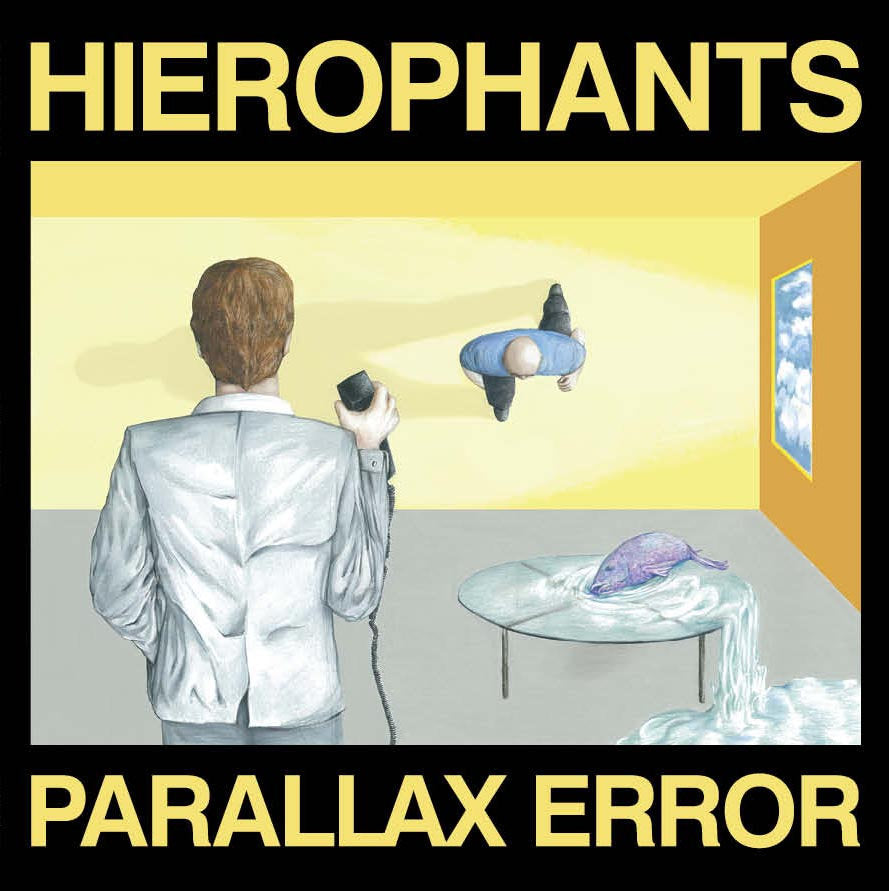 HIEROPHANTS - PARALLAX ERROR LP