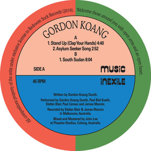 GORDON KOANG - STAND UP (CLAP YOUR HANDS) 12""