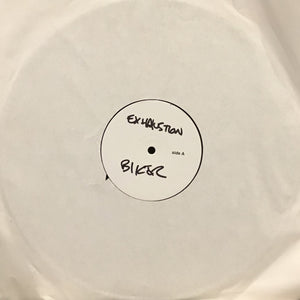 "EXHAUSTION - ""BIKER"" LP *TEST PRESSING*"