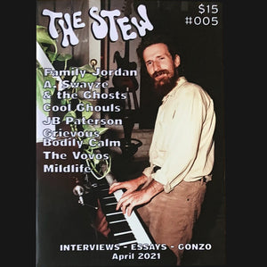 "THE STEW - ""ISSUE #5"" ZINE"