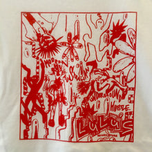 "LULUS SHIRT - ""YUTA MATSUMURA"" RED ON WHITE"