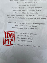 "MONT ICONS - ""SPIDER DEATH"" BOOK + 7"""