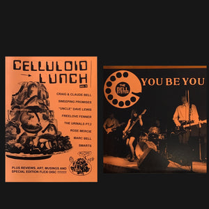 "CELLULOID LUNCH - ""ISSUE #5"" ZINE + FLEXI"